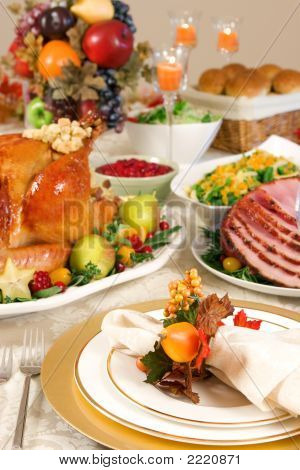 Thanksgiving-Gedeck