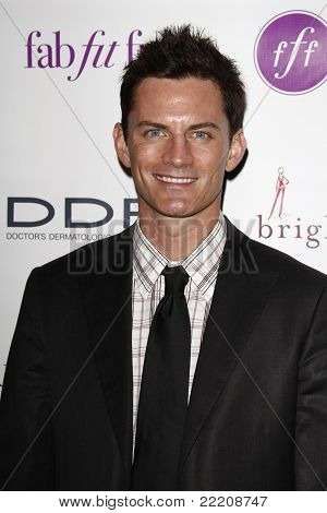 LOS ANGELES, CA - MAR 3: Brandon Johnson at the launch party for 'FabFitFun' hosted by Giuliana Rancic at The Redbury in Los Angeles, California on March 3, 2011