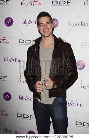LOS ANGELES, CA - MAR 3: Jason Kennedy at the launch party for 'FabFitFun' hosted by Giuliana Rancic at The Redbury in Los Angeles, California on March 3, 2011