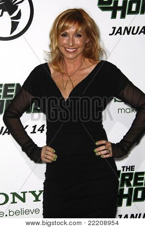 LOS ANGELES, CA - JAN 10: Mythbusters: Kari Byron at the premiere of 'The Green Hornet' at Grauman's Chinese Theater in Los Angeles, California on January 10, 2011