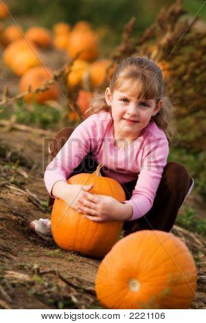 Pretty In The Pumpkin Patch