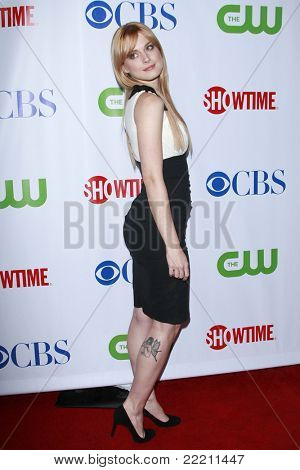 LOS ANGELES, CA - JUL 18: Alexandra Breckenridge at the CBS CW Showtime Press Tour Stars party in Los Angeles, California on July 18, 2008