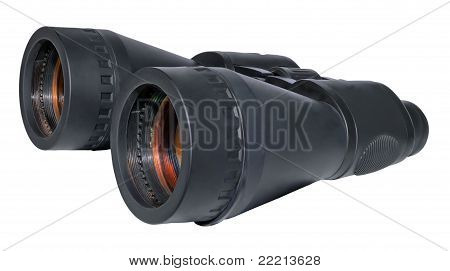 Big Black Binoculars