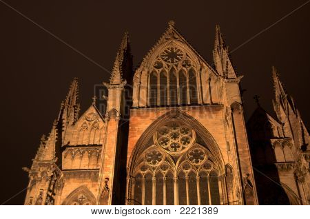 Hdr Night Cathedral