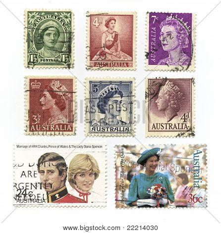 Queen Elizabeth Stamps