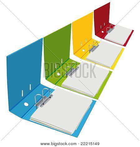 open binders