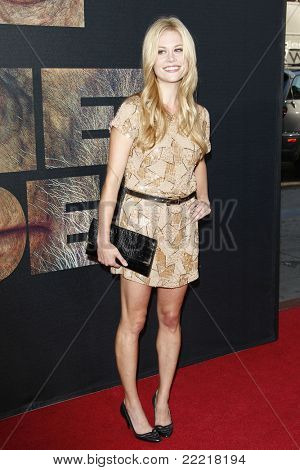 LOS ANGELES, CA - JUL 28: Claire Coffee at the Premiere of 'Rise of the Planet of the Apes' at Grauman's Chinese Theatre on July 28, 2011 in Los Angeles, California