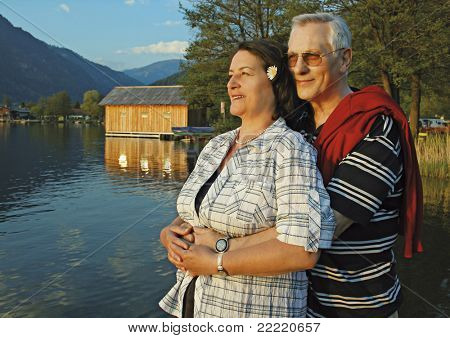 "attractive married mature couple enjoying their togetherness. keyword for this collection is ""seniors77"""