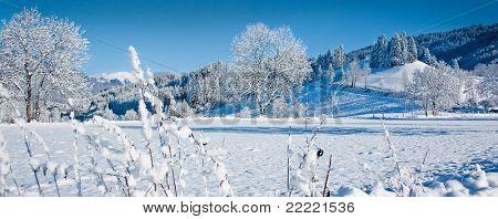 romantic winterlandscape