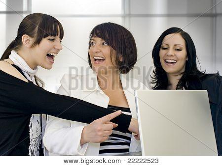 three successful businessladies