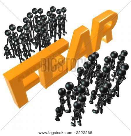 Angst vor Wand