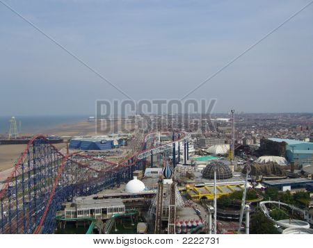 Blackpool From Almost Above!