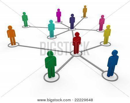 3D Network Team Color