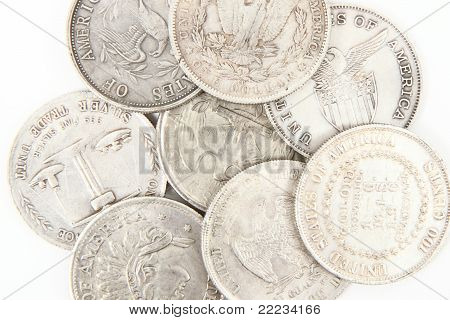 Old Silver Dollars