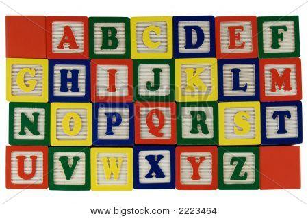 Abc Blocks A-Z