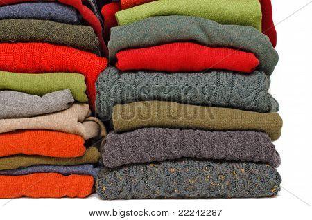 irische Wolle Winter Kabel-Strick & Kashmir