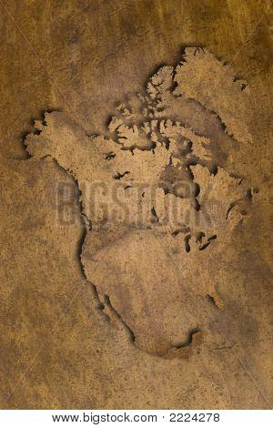 North America Copper Texture