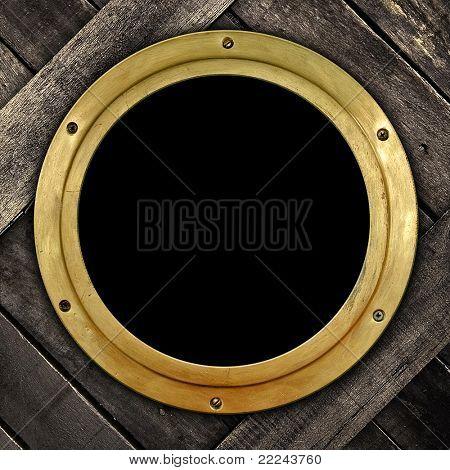 old porthole