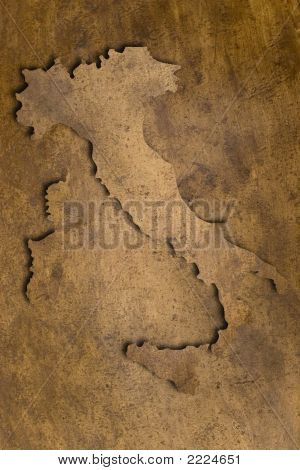 Italy Copper Texture Map