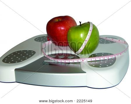 Apples On Scale