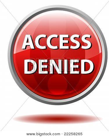 Access denied button