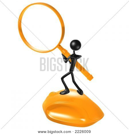 Www Search Magnifier Frame