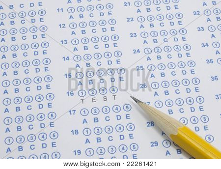 Test On Scantron
