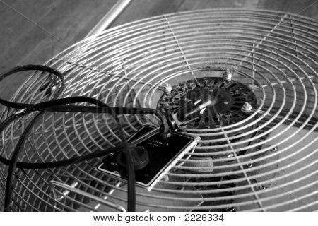 Dusty Vintage Electic Fan
