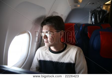 Passenger In The Aircraft
