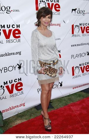 LOS ANGELES - JUL 19: Paula Abdul at the Much Love Animal Rescue fundraiser 'Bow Wow Wow' at the Playboy Mansion on July 19, 2008 in Los Angeles, California