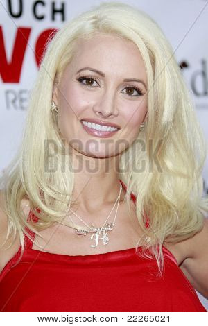 LOS ANGELES - JUL 19: Holly Madison at the Much Love Animal Rescue fundraiser 'Bow Wow Wow' at the Playboy Mansion on July 19, 2008 in Los Angeles, California