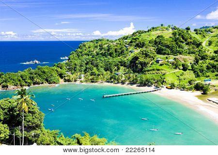 Bahía de Parlatuvier, Tobago
