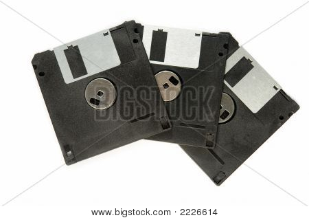 Tres disquetes