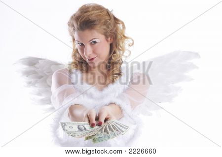 Chritsmas Angel Shows You The Money