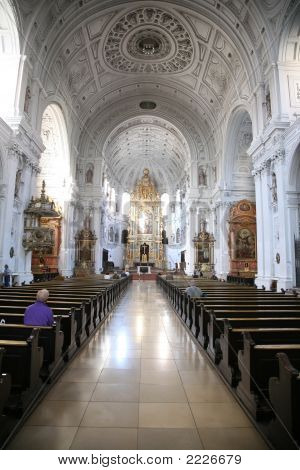 In Cathedral. Munchen