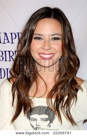 LOS ANGELES - JUL 31:  Malese Jow arriving at the13th Birthday Party for Madison Pettis at Eden on July 31, 2011 in Los Angeles, CA