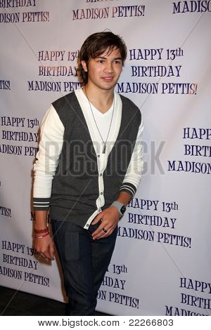LOS ANGELES - JUL 31:  Taylor Gray arriving at the13th Birthday Party for Madison Pettis at Eden on July 31, 2011 in Los Angeles, CA