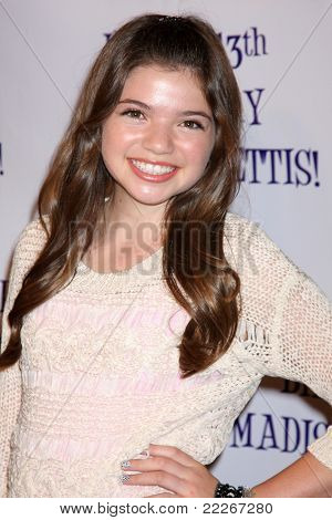 LOS ANGELES - JUL 31:  Jadin Gould arriving at the13th Birthday Party for Madison Pettis at Eden on July 31, 2011 in Los Angeles, CA