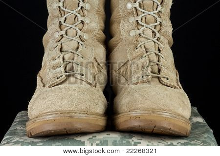 Army Combat Boots - Uniform Straight