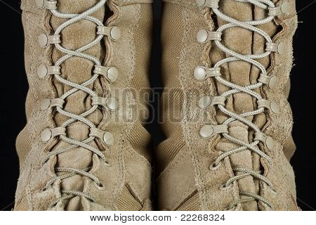 Army Combat Boots - Laces