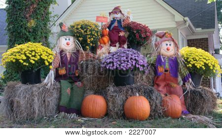 Autumn Yard Decoration