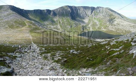 Lochnagar looking from meikle pap