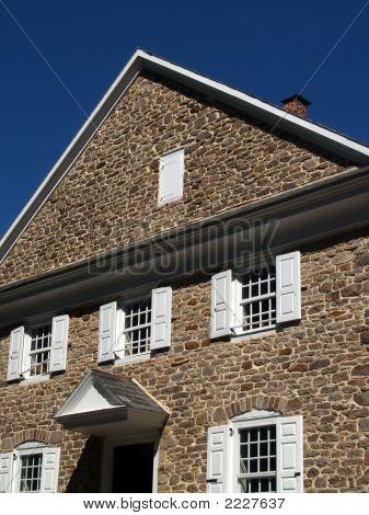 1768 Quaker Meetinghouse (Church), Pennsylvania