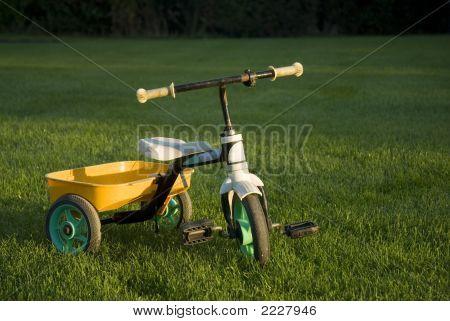 Lonely Empty Child Bike