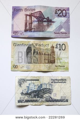 Banknotes From Scotland