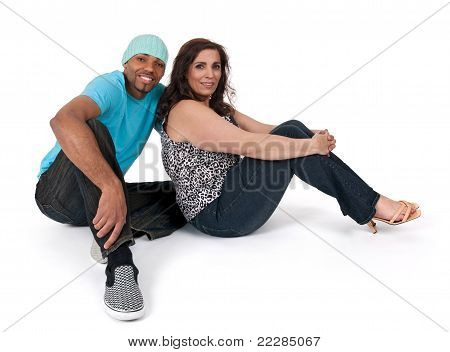 Mature Woman With A Young Guy