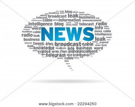 Speech Bubble - News