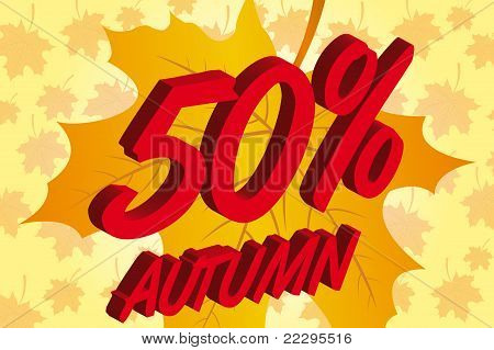 sale autumn