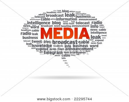 Speech Bubble - Media