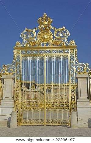 Versailles Front Gate